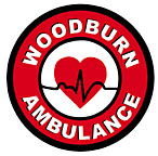 Woodburn Ambulance Logo